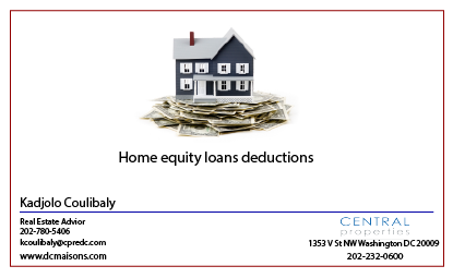 Home equity loan's interest deduction