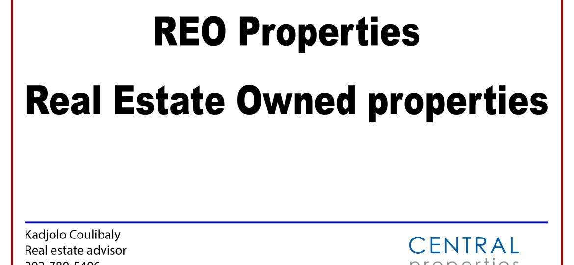 REO: Real Estate Owned