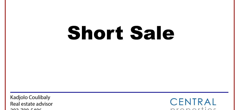 Short sale.
