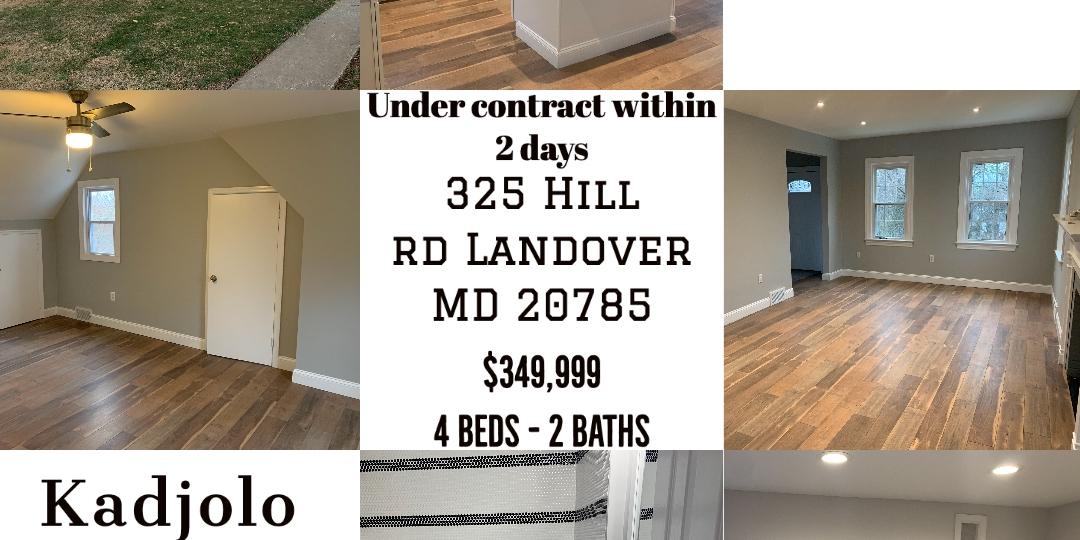 325 Hill Rd landover MD20785